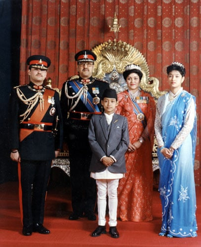 Royal Family of Nepal perished in the Royal Massacre of June 2001